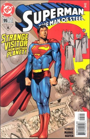 Superman: The Man of Steel 95-A by DC