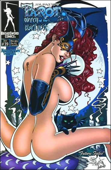 Tarot: Witch of the Black Rose 39-A by BroadSword Comics