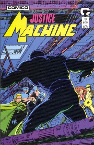 Justice Machine (1987) 14-A by Comico