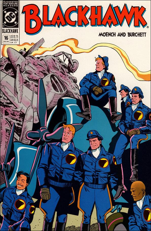 Blackhawk (1989)  16-A by DC