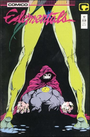 Elementals (1985) 17-A by Comico