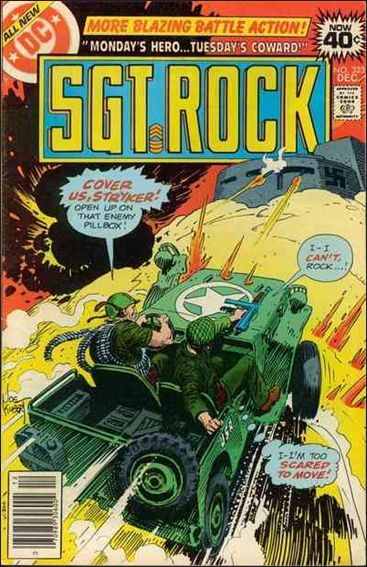Sgt. Rock (1977) 323-A by DC