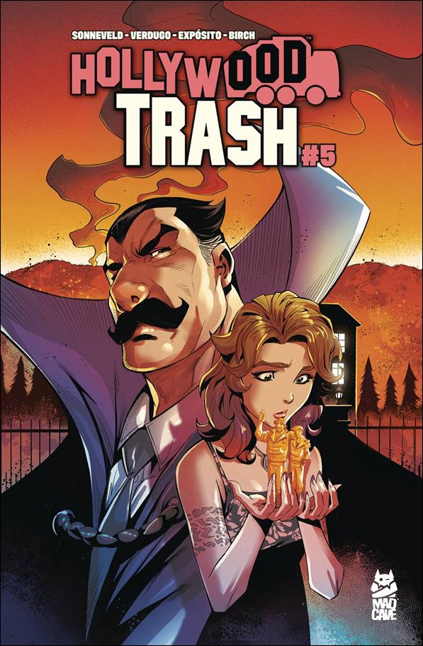 Hollywood Trash 5-A by Mad Cave Studios