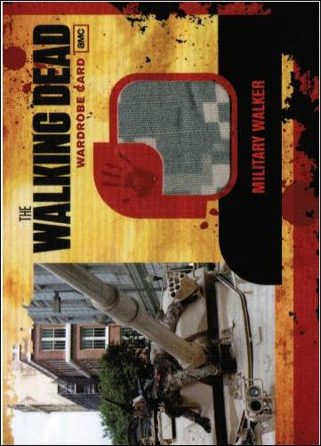 Walking Dead (Wardrobe Subset) M12-A by Cryptozoic Entertainment