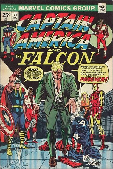 Captain America (1968) 176-A by Marvel