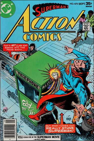 Action Comics (1938) 475-A by DC