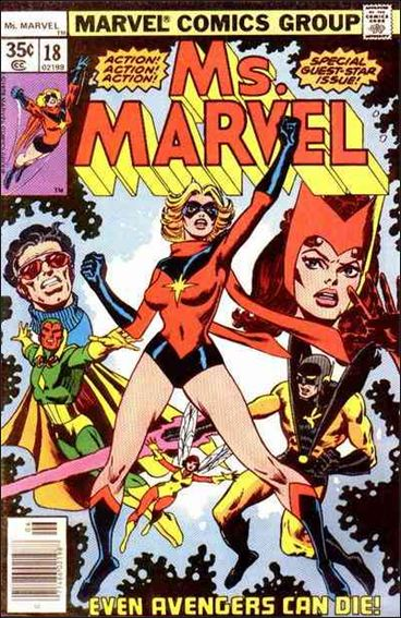 Ms. Marvel (1977) 18-A by Marvel