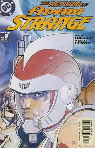 Adam Strange (2004) 1-A by DC