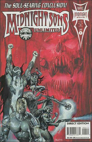 Midnight Sons Unlimited 4-A by Marvel