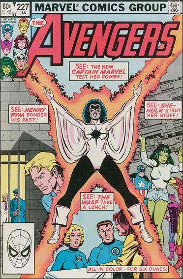 Avengers (1963) 227-A by Marvel