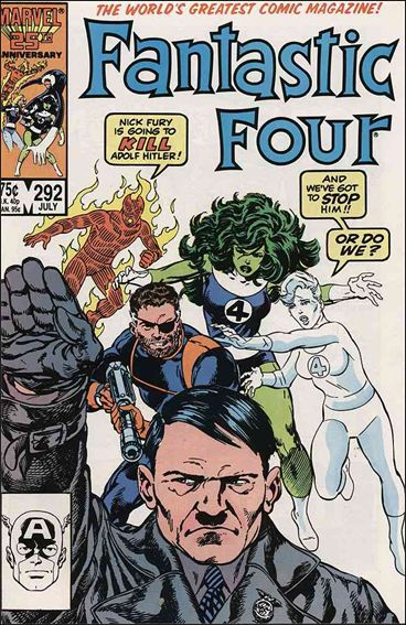 Fantastic Four (1961) 292-A by Marvel
