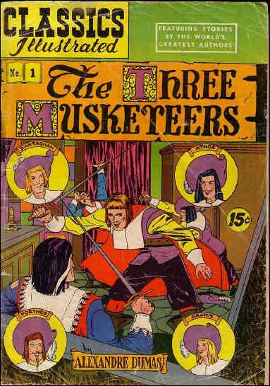 Classic Comics/Classics Illustrated 1-L by Gilberton