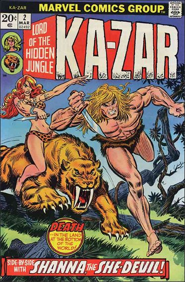Ka-Zar (1974) 2-A by Marvel
