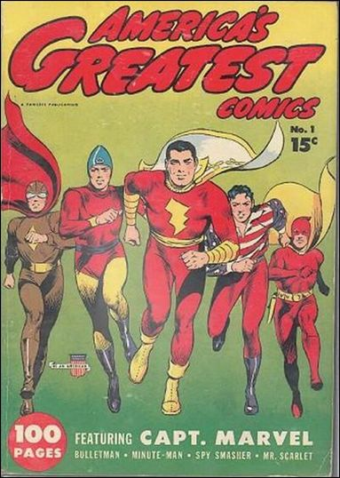 America's Greatest Comics (1941) 1-A by Fawcett