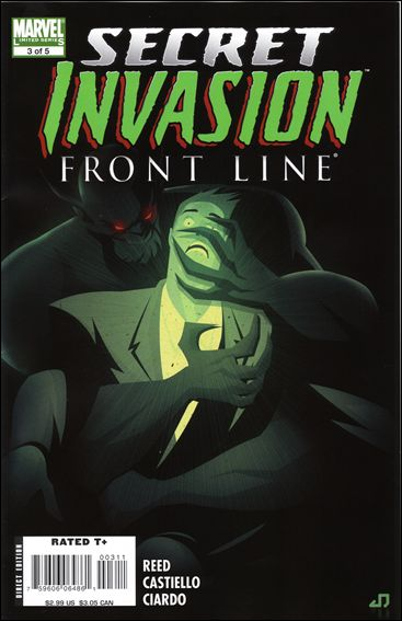 Secret Invasion: Front Line 3-A by Marvel