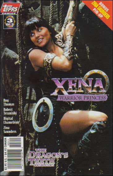 Xena: Warrior Princess: The Dragon's Teeth 3-A by Topps
