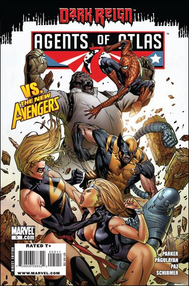 Agents of Atlas (2009) 5-A by Marvel