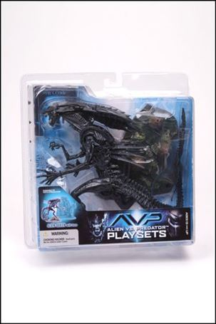 Alien vs Predator (Series 2) Alien Queen with Base