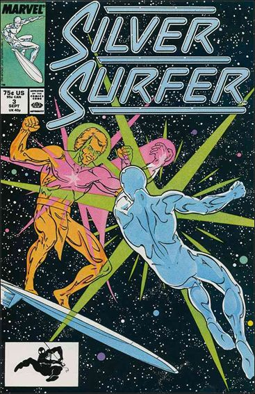 Silver Surfer (1987) 3-A by Marvel