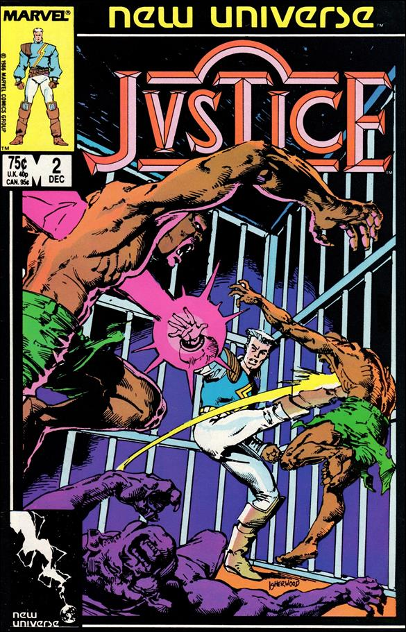 Justice (1986) 2-A by Marvel