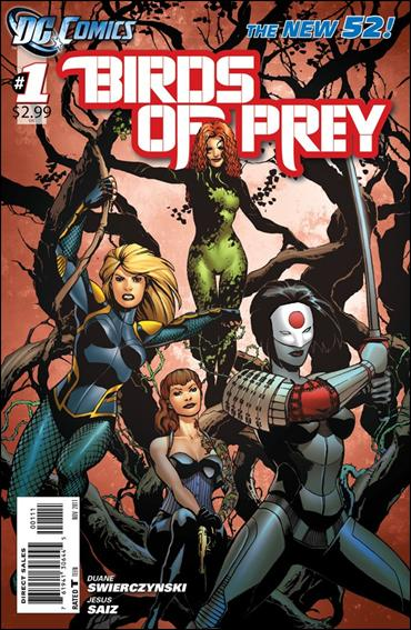 Birds of Prey (2011) 1-A by DC