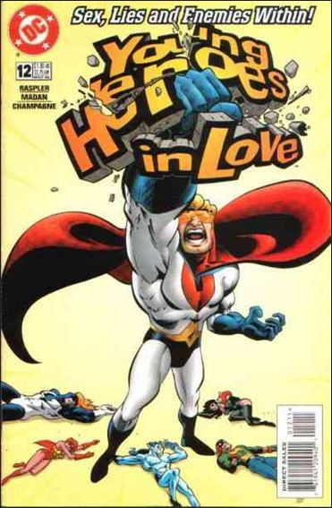 Young Heroes in Love 12-A by DC