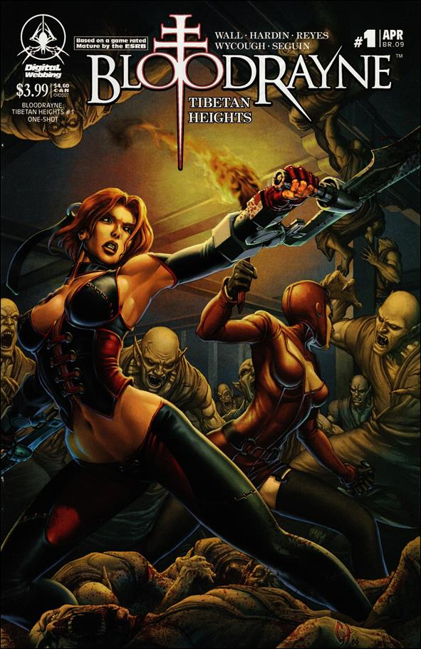 Bloodrayne: Tibetan Heights 1-A by Digital Webbing