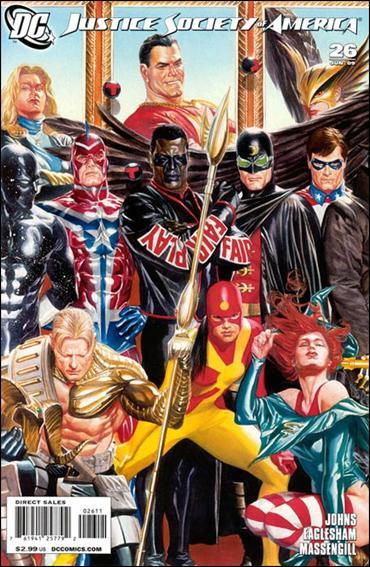 Justice Society of America (2007) 26-A by DC