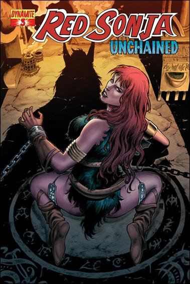 Red Sonja: Unchained 3-C by Dynamite Entertainment