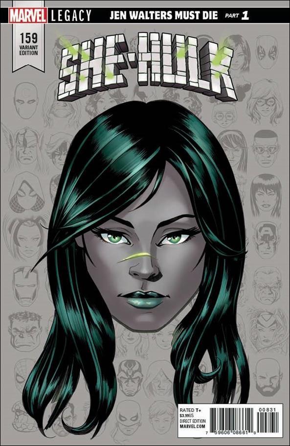 She-Hulk (2018) 159-D by Marvel