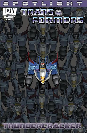 Transformers Spotlight: Thundercracker 1-A by IDW