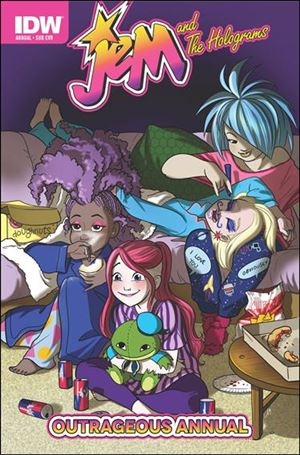 Jem and the Holograms Outrageous Annual 2015-B