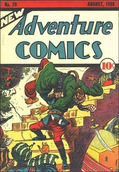 New Adventure Comics 29-A by DC