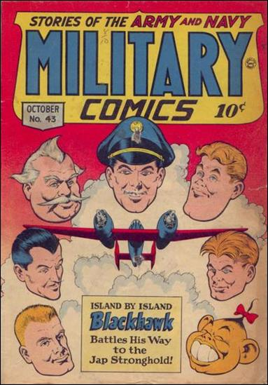 Military Comics 43-A by Comic Magazines