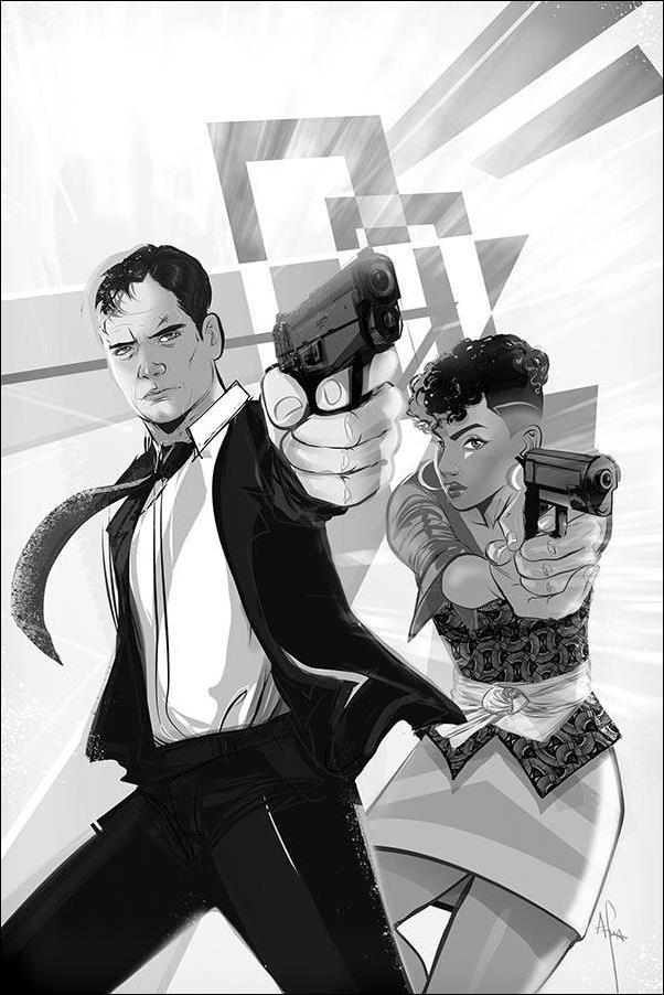 James Bond (2019) 6-E by Dynamite Entertainment
