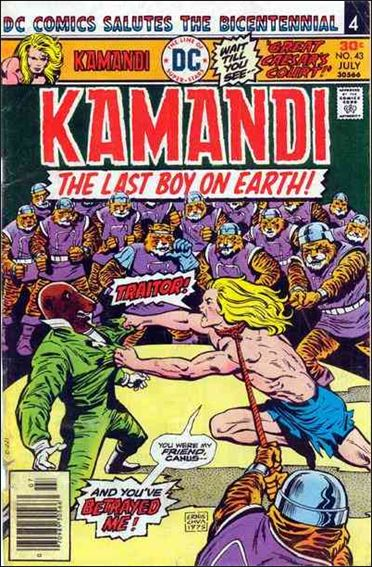Kamandi, the Last Boy on Earth 43-A by DC
