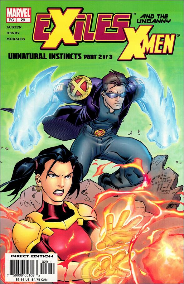 Exiles (2001) 29-A by Marvel
