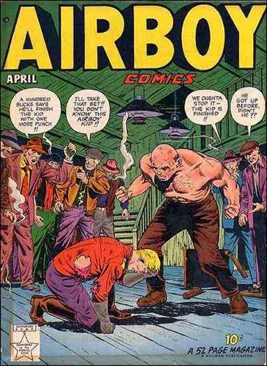 Airboy Comics (1949) 3-A by Hillman