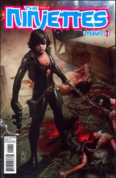 Ninjettes 1-A by Dynamite Entertainment