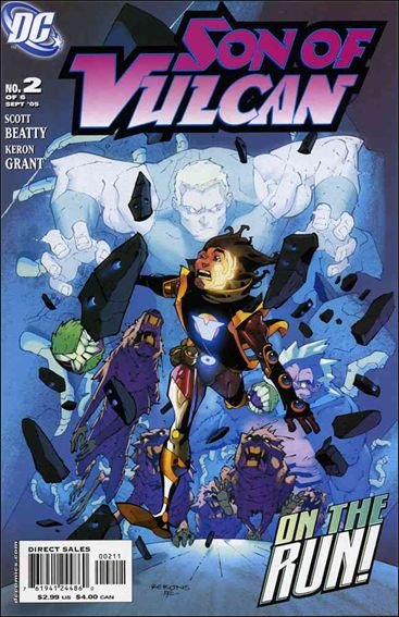 Son of Vulcan (2005) 2-A by DC