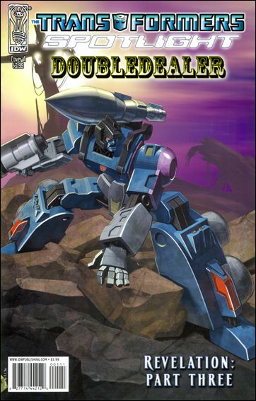 Transformers Spotlight nn18-A by IDW
