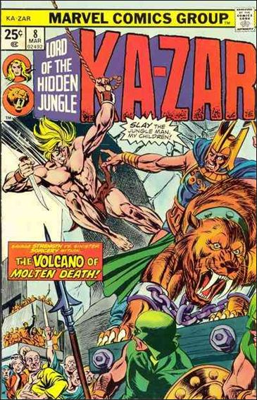 Ka-Zar (1974) 8-A by Marvel
