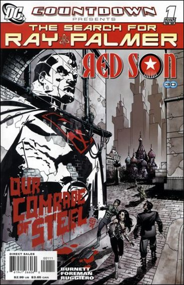 Countdown Presents: The Search for Ray Palmer: Red Son 1-A by DC