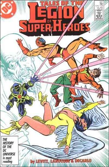 Tales of the Legion of Super-Heroes 347-A by DC
