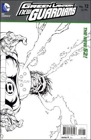 Green Lantern: New Guardians  12-B by DC