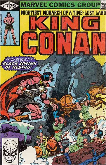 King Conan 2-A by Marvel