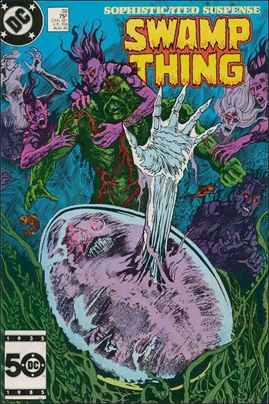 Saga of the Swamp Thing 39-A by DC