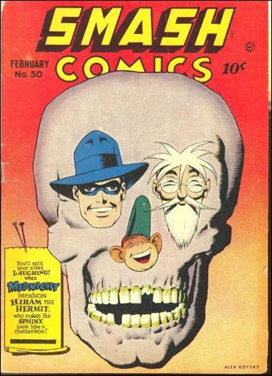 Smash Comics (1939) 50-A by Quality