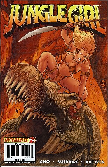 Jungle Girl (2007) 2-B by Dynamite Entertainment