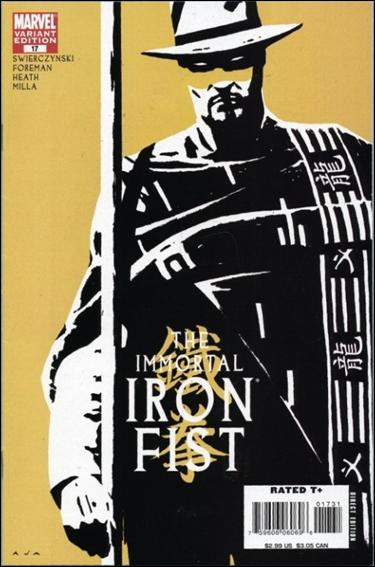 Immortal Iron Fist 17-B by Marvel